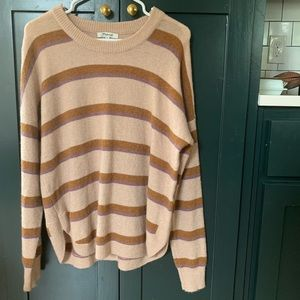 Madewell Westlake striped pullover sweater